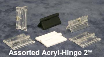 Assorted Acryl-Hinges